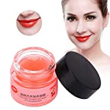 Nourishing Lip Mask, Professional Moisturizing Anti Aging Lip Care Mask Repairing Lines Hydrating Sleeping Treatment Night 10g For Chapped and Cracked Lips
