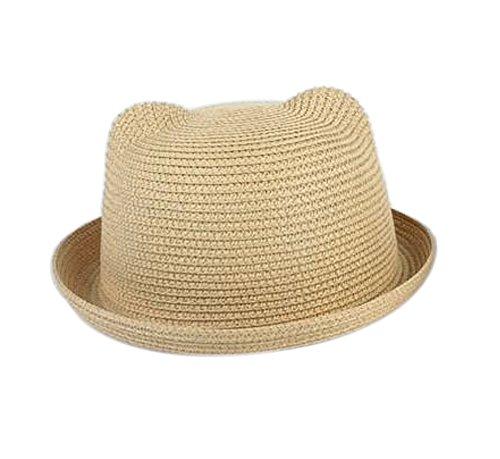 JUNGEN Chapeaux De Soleil Protection Eté Casquette Panama Plage pour Bébé Fille Garçon