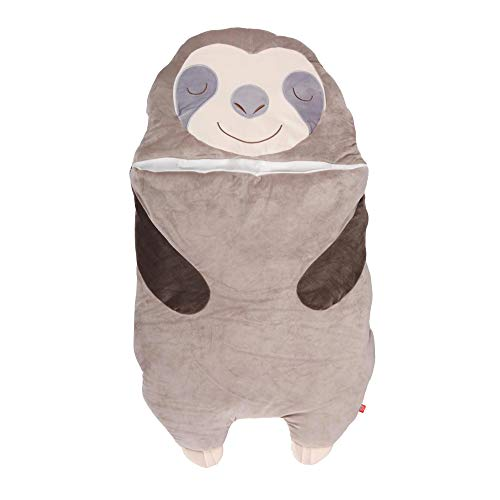 UNUS Faultier Schlafsack für Kinder, Kuscheldecke für Mädchen und Jungen, Kinderschlafsack, klein, 120 x 70cm