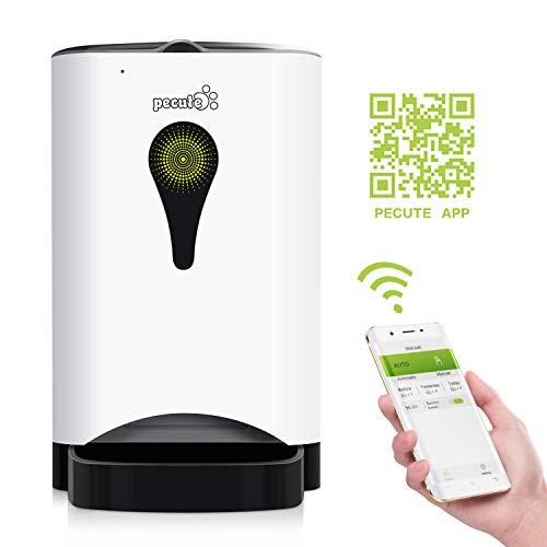 Pecute Distributeur Automatique De Nourriture pour Chien et Chat WiFi...