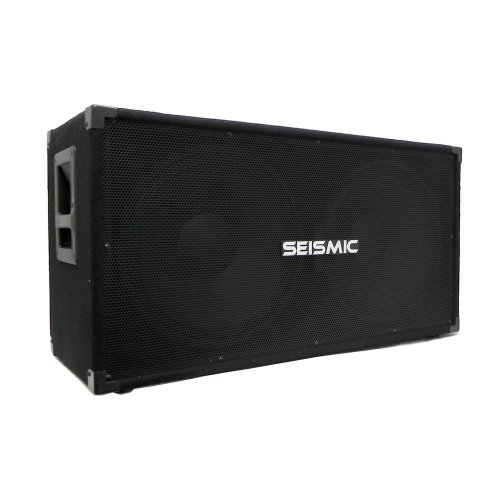 Seismic Audio - 215 Bass Guitar Speaker Cabinet...