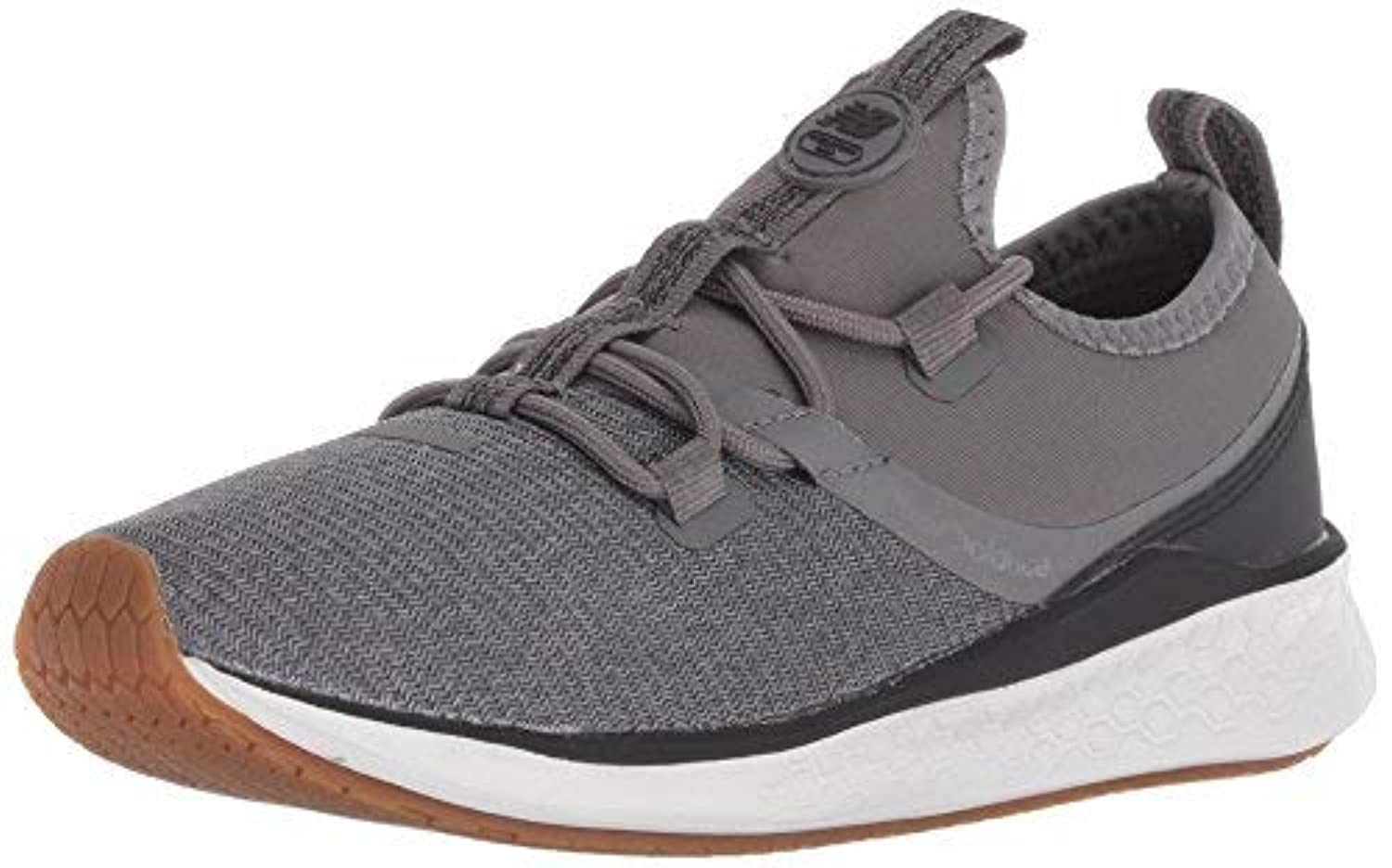 New Balance Boys' Lazr V1 Fresh Foam Running Shoe Castlerock 4.5 W US Big Kid [並行輸入品]