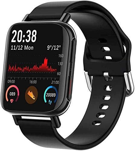 JSL Pedometro Smart Watch per Donne Uomini Hr Fitness Tracker Pressione Sanguigna Monitor Frequenza Cardiaca Sport Trekking Android iOS Ladies Fashion Smartwatch