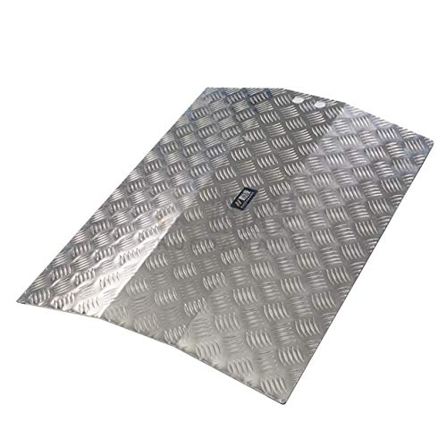 NeoMcc Rampa para Pasos de Piedra Multifunción Umbral arqueado Aluminio rampa Puerta Anti Deslizamiento rampa Ajuste para Scooter de Silla de Ruedas Rampa para Silla de Ruedas
