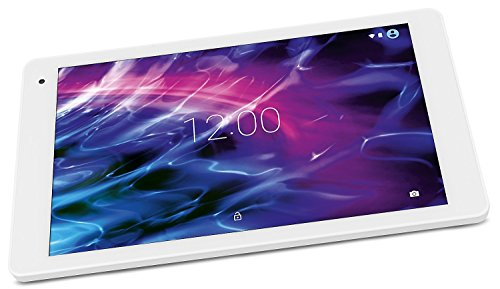 MEDION X10605 25,7 cm (10,1 Zoll Full-HD Display) Tablet-PC (Octa-Core-Prozessor, 32GB Speicher, Bluetooth, LTE, WLAN, Android 7.0, Nougat) weiß