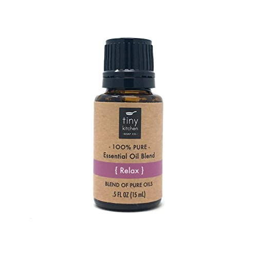 Relax - Aromatherapy Blend of Pure Undiluted Essential Oils (15 mL / .5 fl oz)