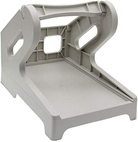 Zarfmiya Label Holder, External Rolls and Fan-Fold Paper Holder for Desktop Thermal Label Printer