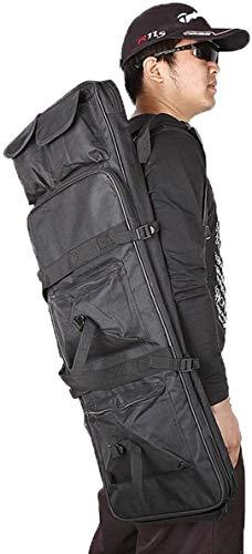 LXNQG Funda de Rifle de Caza, Caja de Pistola Resistente al Agua Rifle Pistola Bolsa de Almacenamiento Bolsa de Almacenamiento Bolsa Acolchada, 94 cm