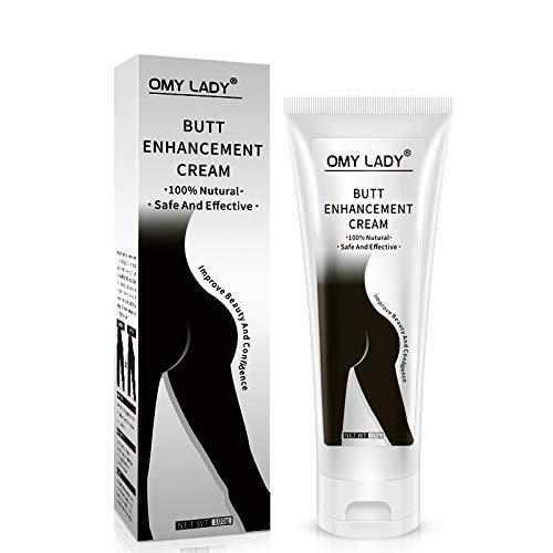 Butt Enhancement Cream, Buttocks Enlargement Enhancer Hip Butt Lifting, Improving Hip Sagging, Hip Dropping, Hip Grain Effective Butt Enlargement Massage Cream 100g