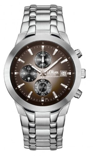 s.Oliver Herren-Armbanduhr Analog Quarz SO-348-MC