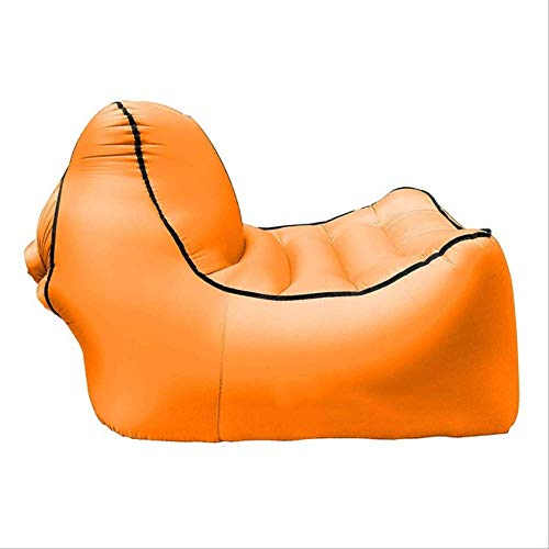 AHJSN Sofá Inflable Sofá Sofá Lounge Beach Camp Chaise Longue para Acampar...