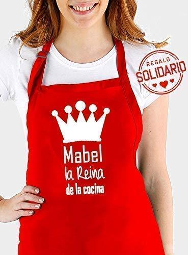 Delantal cocina personalizado.con frase: