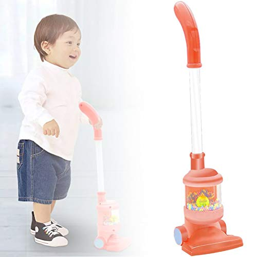 OUCRIY Juego de rol para niños, aspiradora, juguete, simulación de aspiradora, no tóxico, seguridad infantil, juguete educativo para niños y niñas