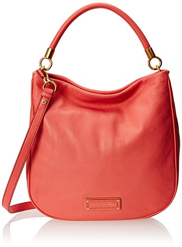 Marc by Marc Jacobs Women's Too Hot to Handle Hobo, Rose Bush, One Size (Marc Jacobs Too Hot To Handle Handbag)