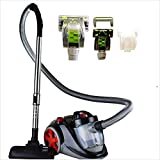 Ovente ST2010 Featherlite Cyclonic Bagless Canister Vacuum with Hepa Filter,...