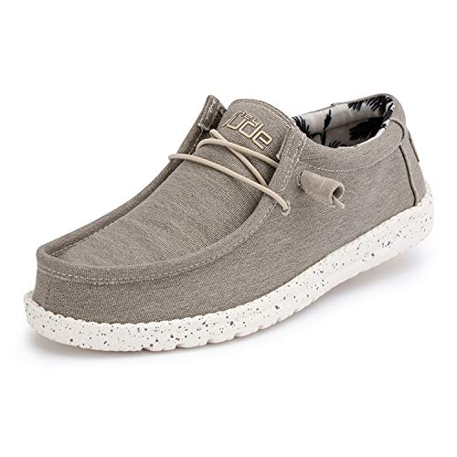 Dude Shoes Men's Wally Stretch Beige UK12/EU46