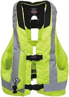 LLC-CLAYMORE Chaleco Airbag de Motocicleta Unisex-Adulto,Green,L Chaqueta de airbag Peso Ligero Chaleco Reflectante