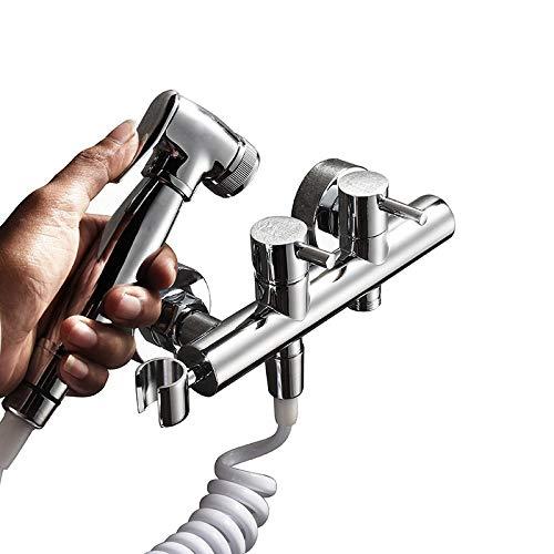 GUANGHEYUAN-J Handheld Bidet de Mano de latón Set de Ducha WC Jet Cleaner Bidet portátil Ducha de Alta presión para el baño