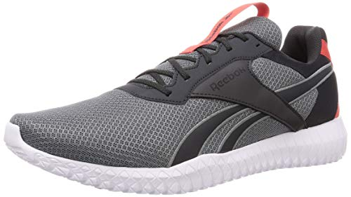 Reebok Herren Flexagon Energy Tr 2.0 Leichtathletik-Schuh, Mehrfarbig (CDGRY5 / CDGRY7 / RADRED), 44.5 EU