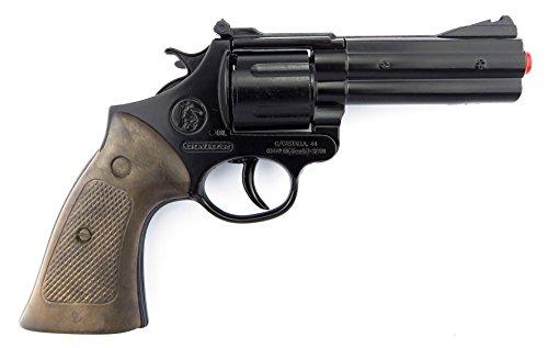 Gonher - Revolver Polizia a 12 Colpi, Colore Nero. (127/6)