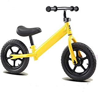 Peteg Balance para Niños De 2-6 Años, Andador, Scooter para Niños, Neumático De Bicicleta Sin Pedales,Amarillo