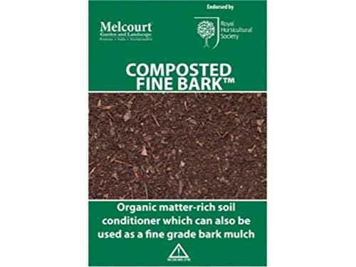 50 litre bag of RHS endorsed Melcourt composted fine bark - ideal for...