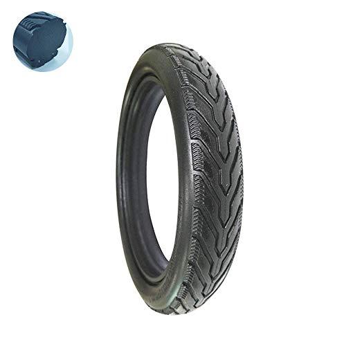 Pneus de Scooter électrique, pneus Unis de Couleur 12X1.75, pneus sans Entretien, Pas de gonflage, pneus de Poussette/vélo en polyuréthane, sécurité et Confort