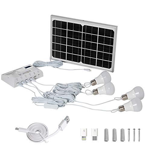 Solarlampe LED-Leuchtmittel Für Die Beleuchtung Zuhause Mit 200 LM LED Glühlampen Für Camping Wandern Angeln Gartenhaus mit Schuppen