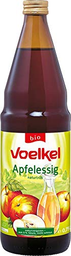 Voelkel Bio Apfelessig, naturtrüb, bio (6 x 750 ml)