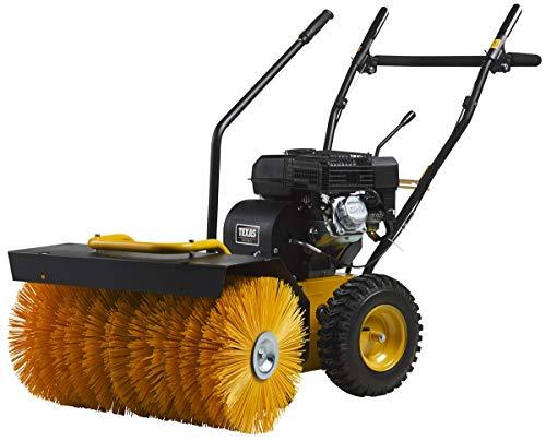 TEXAS Handy Sweep 650TGE Benzin Kehrmaschine (4200 Watt Leistung, 60 cm Arbeitsbreite, 3+1 Gänge, Elektrostarter)