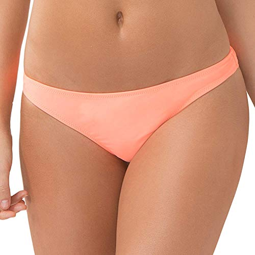 Smart & Sexy Women's Swim Secret Teeny Bikini Bottom, Peach Luster, M