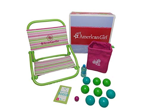 American Girl Chair and Bocce Set for Doll by American Girl