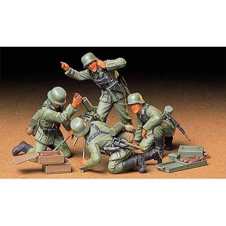 Tamiya - Maqueta Para Montar Equipo de Mortero de Infantería Alemana Escala...