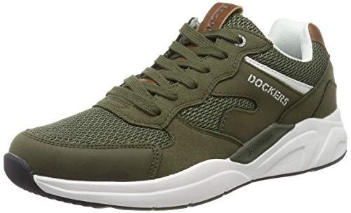 Dockers by Gerli Herren 44HG004 Sneaker, Grün (Khaki 850), 42 EU