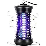 Feizhibo Zanzariera Elettrica, 6W Luce UV Repellente Lampada Antizanzare Elettrico Lampade Antizanzara Anti Insetti per Casa Cucina