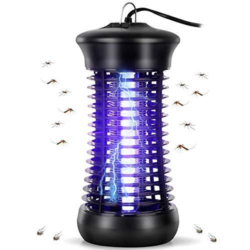 Feizhibo Moustique Tueur Lampe, UV Electrique Moustique Killer Lampe, Electrique Anti Insectes Répulsif, Tueur D insectes Mouches Piège Anti Insecte Zapper, Non Toxique pour L intérieur
