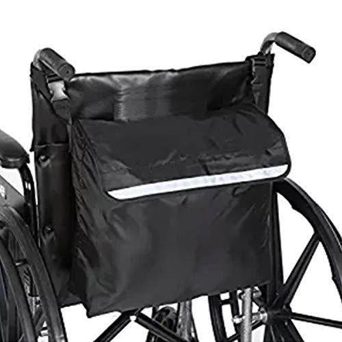 Mochila para silla de ruedas, paquete de accesorios para sus dispositivos de movilidad Se adapta a la mayoría de los scooters, andadores, sillas de ruedas manuales o eléctricas de 18''X16