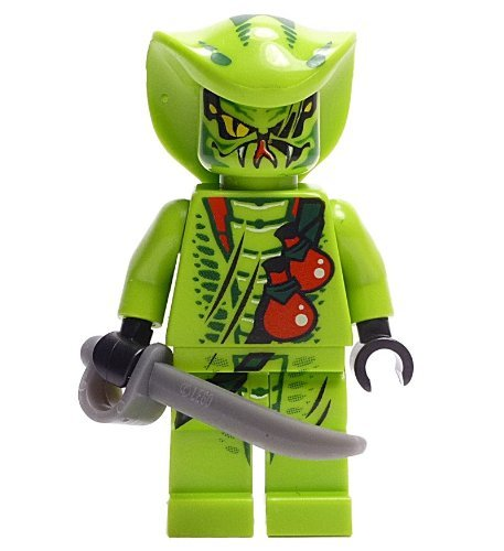LEGO Ninjago Minifigur - Figur Lasha mit Säbel aus Set 9562