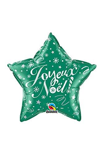 SARL ABC Ballon Etoile Joyeux Noël Couleur Vert