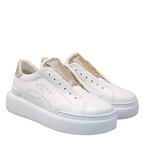 Sneakers Rodi, 40, Bianco/Oro