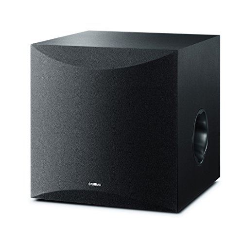 Yamaha Ks-Sw100 - Altavoz subgrave, 291 x 292 x 341 mm, Color Negro
