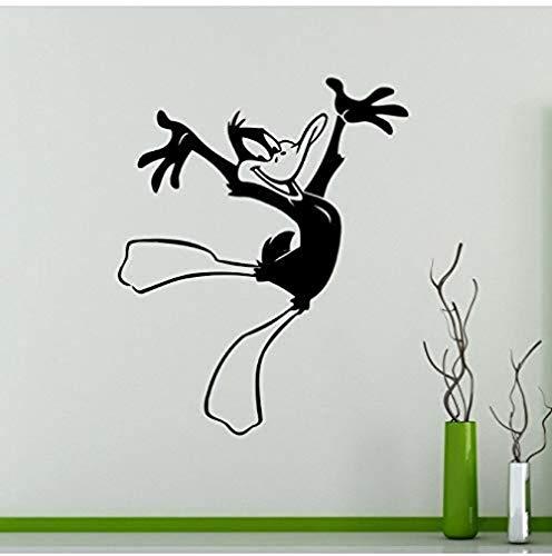 Diy pegatinas de pared pegatinas de dibujos animados cómicos pegatinas de decoración interior del hogar pegatinas de artículos para el hogar pegatinas de pared 48X60 cm