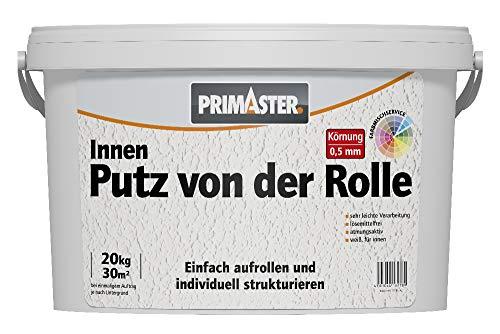 Preisvergleich Produktbild Primaster Putz von der Rolle 20 kg Innen Matt Rollputz Streichputz