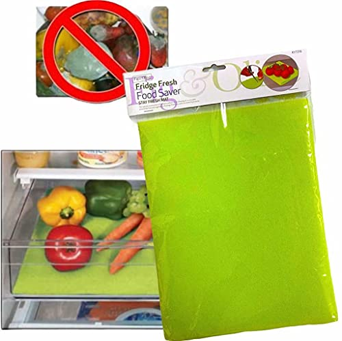 Kitchen Fridge Drawer Food Fresh Saver Liner MAT Fruit Salad Veggies Washable