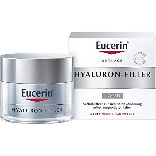 Hyaluron-Filler: Nachtcreme von Eucerin