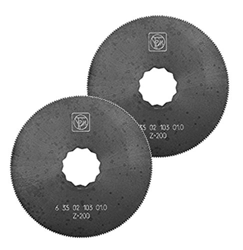 For Sale! Fein (102) 2 Pack 2.5 HSS Saw Blade for SuperCut, (4 Total) # 63502102016-2PK