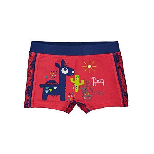Petit Béguin - Boxer de bain rouge bébé garçon Funky Camel - Taille - 24 mois (92 cm)
