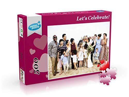 Foto Puzzle Personalizado, Puzzle Personalizado con tu Foto 500, 1000, 2000 Piezas, Puzzle Personalizado con tu Foto Favorita (500 Piezas)