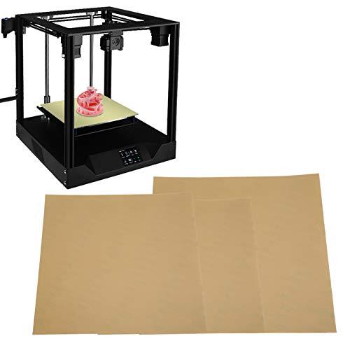 Piastre di costruzione in polipropilene con pellicola PEI Walfront per piattaforma stampante 3D Facile da rimuovere, buon adesivo(310 * 310 mm)