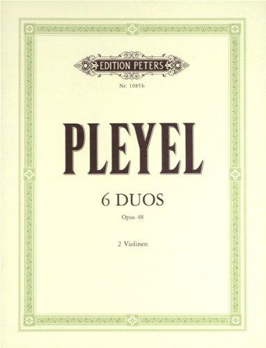 6 kleine duo's op.48: voor 2 viool stemmen
